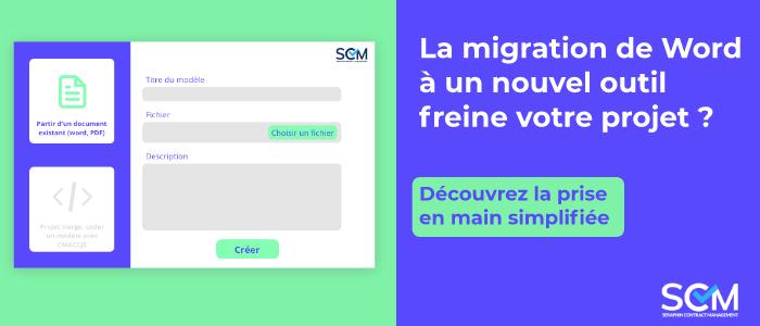 La migration de word à un nouvel outil freine votre projet ? Découvrez la prise en main simplifiée