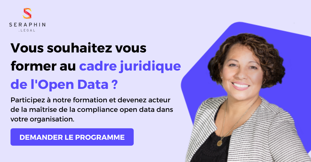 Formation cadre juridique de l'open data