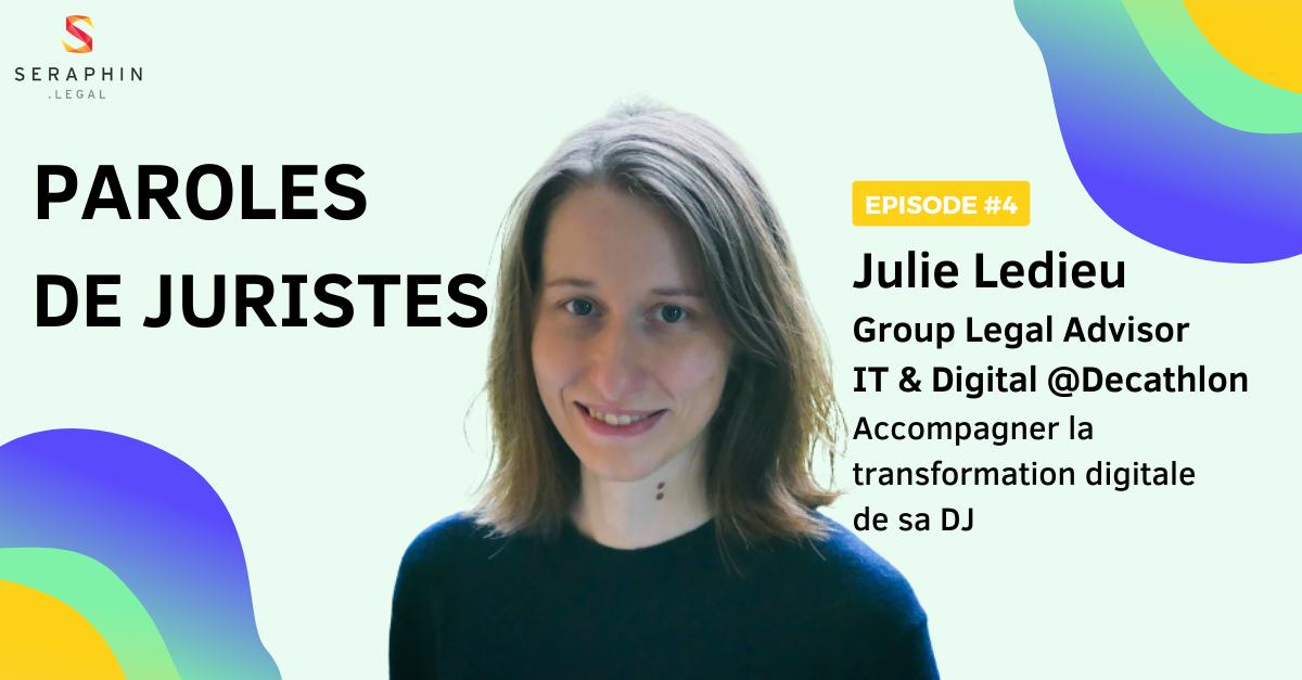 Paroles de juristes : découvrez le parcours de Julie Ledieu.
